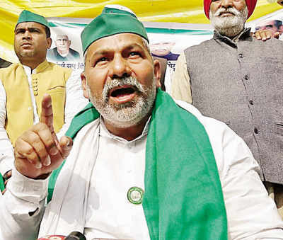 Repeal farm laws or will march to Parliament with 40 lakh tractors: Rakesh Tikait threatens Centre