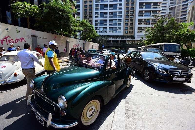 Vintage Car Rally 2018: Classic cars take over Mumbai