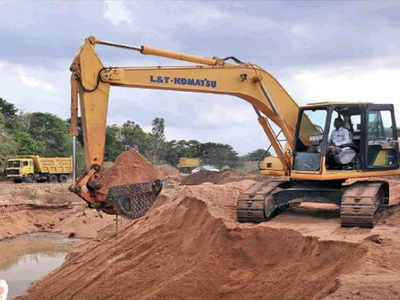 Collector takes action on illegal sand mining