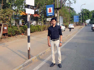 Twin towns bizman spends Rs 10K to fight Rs 200 traffic fine, wins
