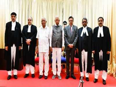 4 additional judges sworn in for Karnataka High Court