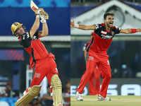 IPL: Harshal, ABD shine in RCB's nervy win vs MI