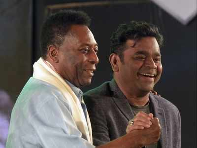 Sharapova moment? AR Rahman googled for info on Pele before composing for biopic