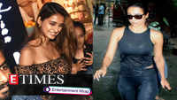 Disha Patani gets mobbed by crazy fans; Malaika Arora spotted outside a hospital, and more
