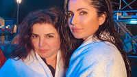 Sooryavanshi: Katrina Kaif shares 'towel series' pic with Farah Khan, calls her 'mummy'