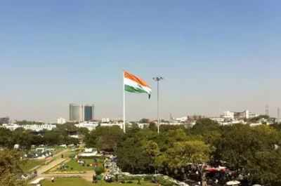 Delhi news live: City could get up to 5 high-mast Tricolors by August 15