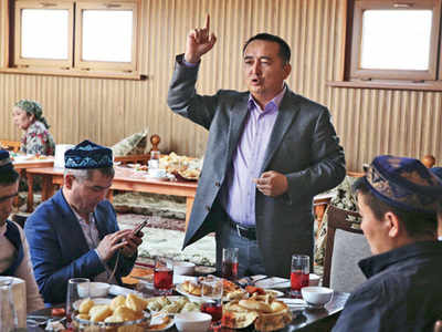 Kazakh activist held for 'hate crimes' in China