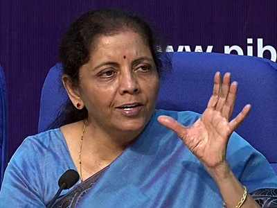 FM Nirmala Sitharaman: Government to give Rs 12,000 crore special interest-free 50-year loan to states