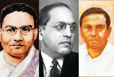 Ambedkar and two Mandals