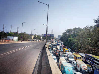 Shutdown of Sion flyover causes traffic snarls