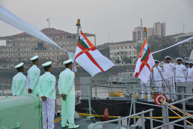 In pictures: INS Nirbhik, Nirghat decommissioned