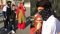 Sara, Kartik Aaryan cover their faces while roaming in Shimla