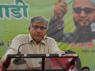 Prakash Ambedkar: Congress-NCP played spoiler, not VBA