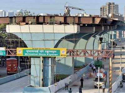 Stalled for 3 years, Goregaon flyover to be completed soon
