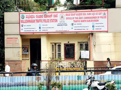 Malleshwaram traffic police station is now a 'massage parlour'