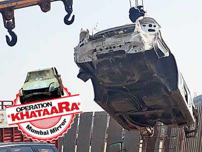 Operation Khataraa: 38 khataaras cleared from BKC road