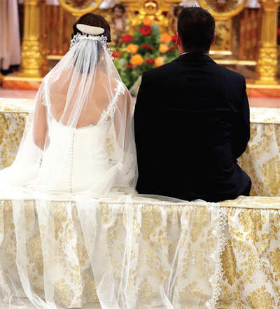 Pope may ride to rescue of interfaith marriages