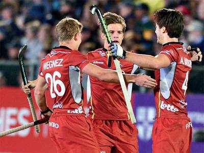 Hockey: Belgium stake their claim