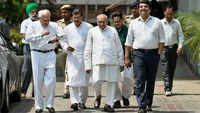 Karnataka polls: Congress leaders meet Election Commission, make four demands
