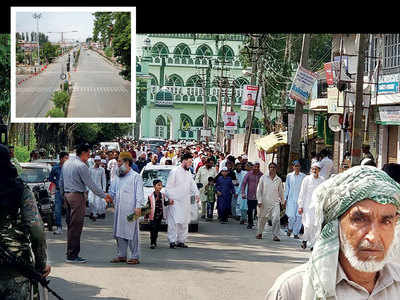 Muted Eid in Valley