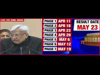 Lok Sabha polls to be held from April 11 to May 19, counting on May 23: EC