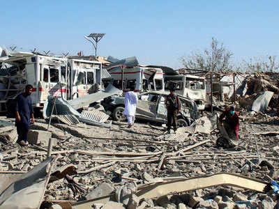 20 killed as Taliban bomb hits hospital