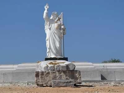 Christ statue brings Kalladaka to Kanakapura