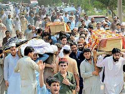 Anti-Taliban poll candidate, 19 others killed in suicide blast