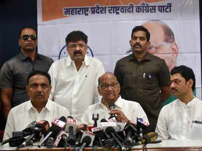 NCP names 5 members for joint panel with Congress to prepare Common Minimum Programme