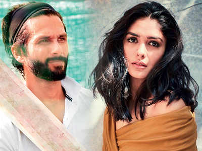 Mrunal Thakur is Shahid Kapoor's leading lady in Jersey