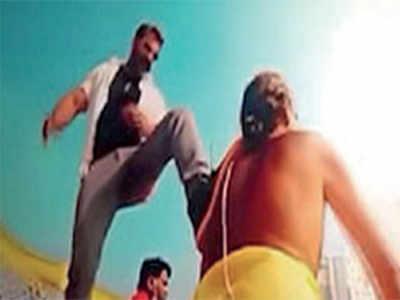 Pogaru scene lands film in soup