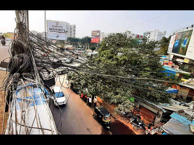 Wakad flyover has been all wired up