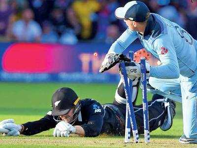 The World at England's feet: Morgan & Co beat New Zealand by Superior Boundary Count in the greatest final ever