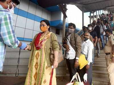 Mumbai: 10 train passengers screened within BMC limit test COVID-19 positive