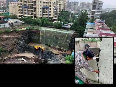 Residents of Baner soc fear wall crash