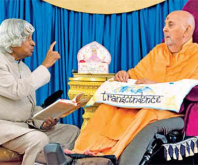 Transcending boundaries with Swamiji