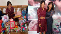 Priyanka Chopra poses with her fans at meet and greet session as part of 'The Sky Is Pink' promotions