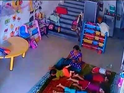 Maid at Kharghar playschool assaults baby