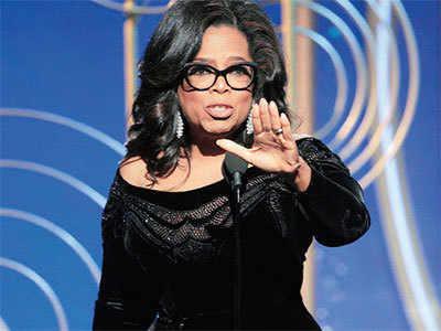 After Oprah Winfrey's inspiring speech, do you think she should run for President?