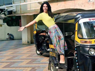 Mallika Sherawat spotted in Mumbai