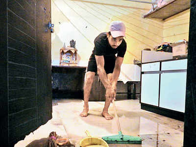 Picking up the pieces:  From water entering flat four times to losing nearly everything in Mumbai rains