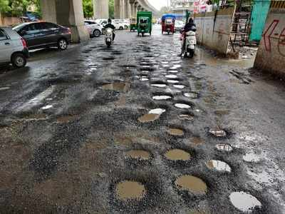 Ahmedabad Municipal Corporation repairs 1,234 potholes on city roads in a day
