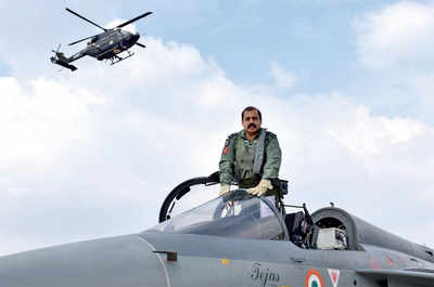 Top IAF official flies LCA Tejas, says 'all is well'