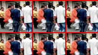 Ahmedabad: MLA kicks woman after she falls on the ground, video goes viral