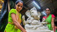 The fate of Ganpati idol makers hangs in the balance due to uncertainties about Ganesh Utsav