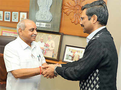 Happy tidings for Gujarat Deputy Chief Minister Nitin Patel