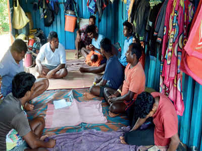 35 labourers from Bihar stuck in two containers in Bengaluru