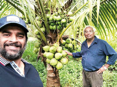 R Madhavan tills a barren land in Tamil Nadu back to life and now plans to replicate the model worldwide