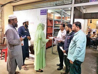 Citizens queue for birth certificates