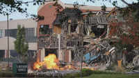 Columbia: Gas explosion badly damages shopping center